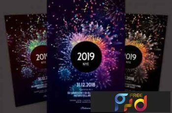 New Year Flyer 3510229