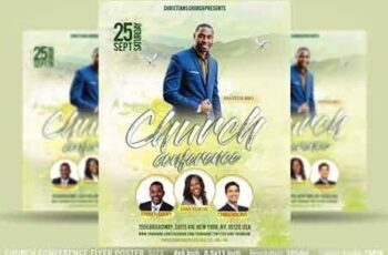 Church Conference Flyer Poster 3219154 6