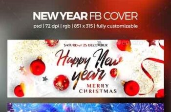 New Year Facebook Cover 22898492 6