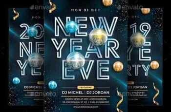 New Year Flyer 22904852 2