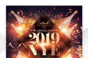 New Year Party Flyer 22893392 4