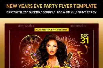 New Years Eve Party Flyer Template 22894499 4