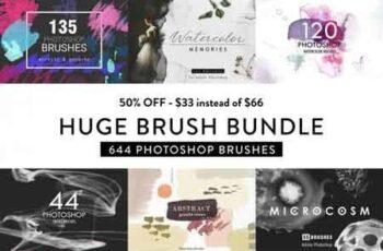 Photoshop Brush Bundle 3509672 3