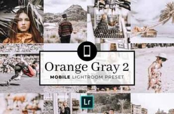 Mobile Lightroom Preset OrangeGray2 3320045 3