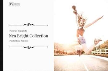 Neo Bright Color Grading photoshop actions,ACR and LUT Preset 3521494 1