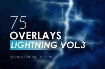 100 Lightning Overlays Bundle 3