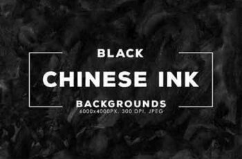 Black China Ink Backgrounds
