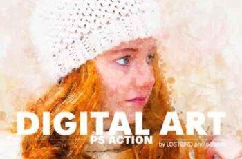 Digital Art Photoshop Action 23120952 7
