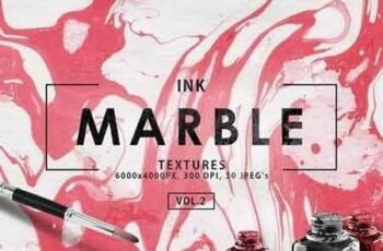 Multicolor Marble Ink Backgrounds Vol 2 3