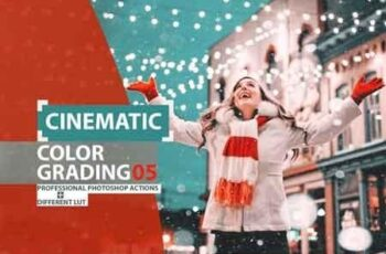 Cinematic Color Grading 05 Premium photoshop action 3523194 2