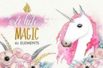 WHITE MAGIC watercolor set 2142915 4