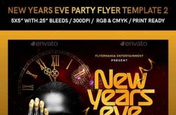 New Years Eve Party Flyer Template 2 22895330 2