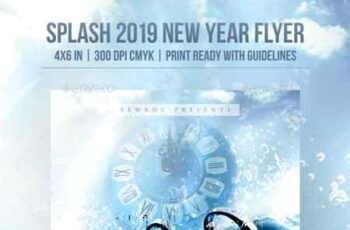Splash 2019 New Year Flyer 22895438 3