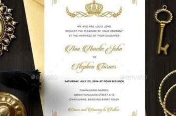 Royal Wedding Invitation 18800266 7