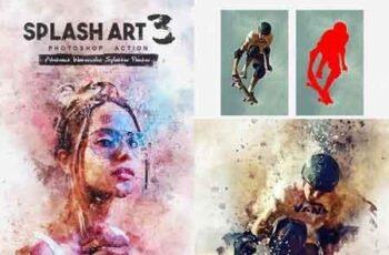 Splash Art 3 Photoshop Action 22772692 2