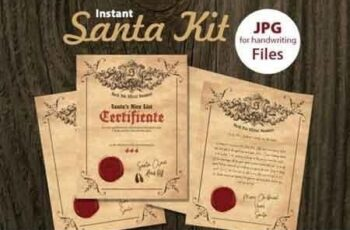 Printable Santa Kit 781790 5