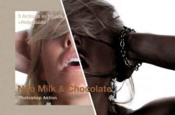 Neo Milk And Chocolate Photoshop Action 193159 6