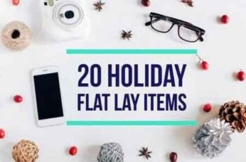 20 Holiday flat lay items collection 1064149 5