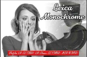 Leica Monochrome profiles LR ACR 3369370 3