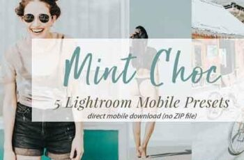 Mint Choc Mobile Lightroom Presets 3321183 3