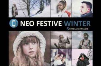 Neo Festive Winter Story mobile lightroom presets 3524678 5