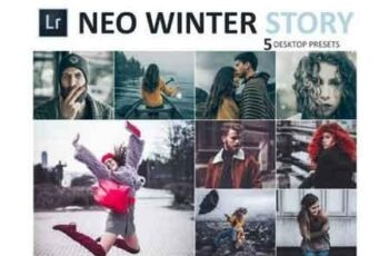 Neo Winter Story Desktop Lightroom Presets 3524664 7