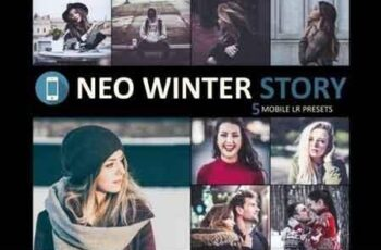 Neo Winter Story mobile lightroom presets 3524651 7