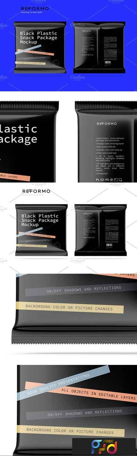 Black Plastic Snack Package Mockup 3245594 1