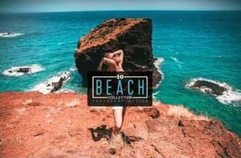 10 Beach Collection Photoshop Action 3523203 4