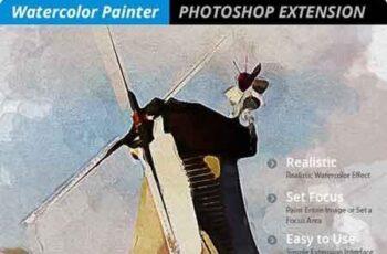 Watercolor Painter 23104255