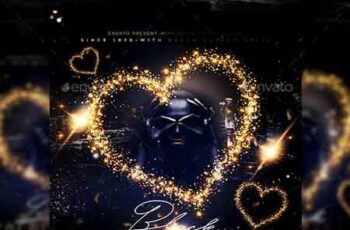 Golden Black Party Flyer 22876162 6