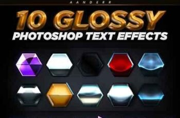 10 Glossy Photoshop Text Effects 22885599 6