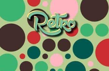 20 Retro Dots Patterns & Styles 22943219 2