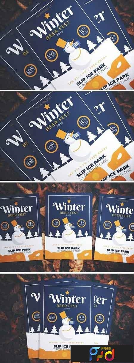 Winter Beer Fest Flyer 3261489 1