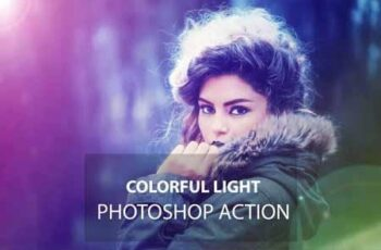 Colorful Light Photoshop Action 3164016 4