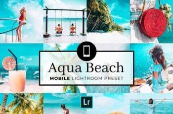 Mobile Lightroom Preset Aqua Beach 3321726 7
