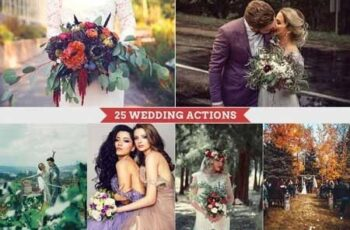 25 Wedding Photoshop Actions 3368313 5