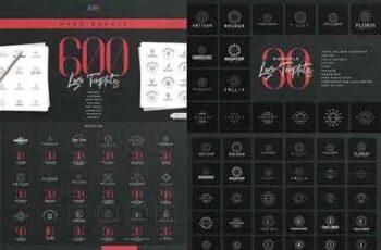 Mega Bundle - 600 Logo Templates 3239162 6