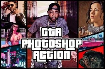 GTA Photoshop Action 3374297