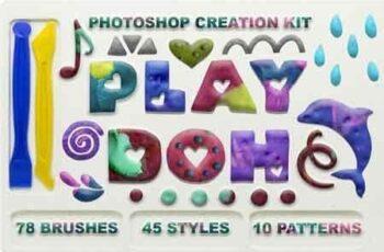 Play Doh Photoshop creation kit 3258463 5