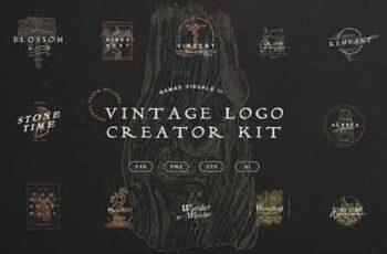 Vintage Logo Creator Kit 3263548 3