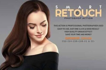 6 Smart Retouch Photoshop Action 3524869 5