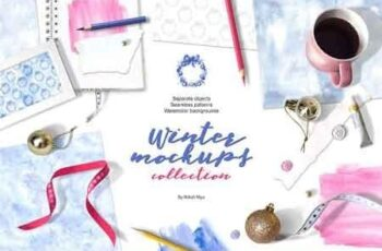 Winter mockups collection 3239302 5