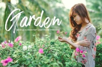 Garden Lightroom Presets 3409926 7