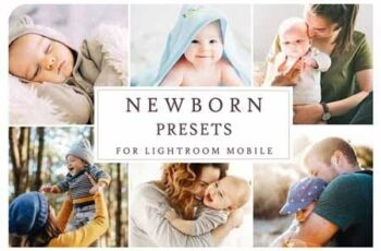 Lightroom Mobile NEWBORN PRESETS 3405170 6