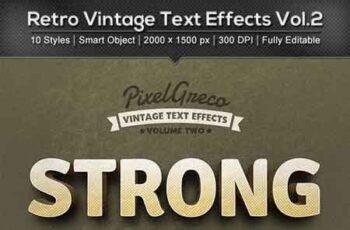 Retro Vintage Text Effects Vol2 22891278 7