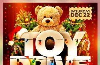 Toy Drive Flyer 22885632 6