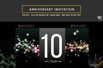 Anniversary Invitation 19134540 8