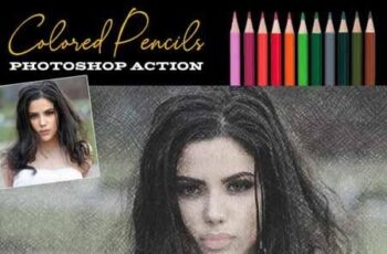 Fast Colored Pencils Photoshop Action 22271142 7