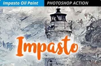 Impasto - Oil Paint Effect 23170044 2